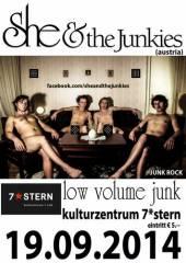 She and the Junkies @ 7*stern, 1070 Wien  7. (Wien), 19.09.2014, 21:00 Uhr