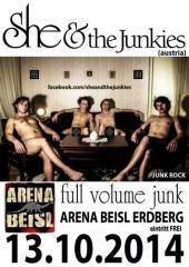 She and the Junkies @ Arena Beisl, 1030 Wien  3. (Wien), 13.10.2014, 21:30 Uhr