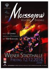 Igor Moisseyew Ballett, 1150 Wien,Rudolfsheim-Fünfhaus (Wien), 12.12.2014, 20:00 Uhr
