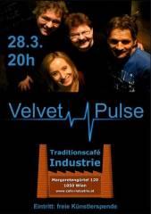 Velvet Pulse, 1050 Wien  5. (Wien), 28.03.2015, 20:00 Uhr