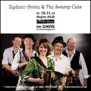 Zydeco Annie & The Swamp Cats (D), 1210 Wien 21. (Wien), 15.11.2013, 20:30 Uhr