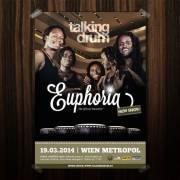 Talking Drum Euphoria Minus 20 %, 1170 Wien 17. (Wien), 19.03.2014, 20:00 Uhr