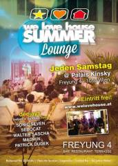 we love house Summer Lounge, 1010 Wien  1. (Wien), 27.09.2014, 20:00 Uhr