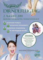Gössl Dirndlflugtag, 9762 Neusach (Ktn.), 02.08.2014, 16:30 Uhr