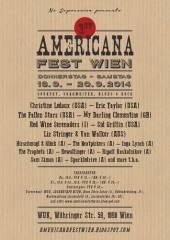 1. Americana Fest Wien - live @ WUK Tag 1, 1090 Wien  9. (Wien), 18.09.2014, 18:00 Uhr