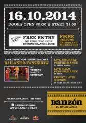 Neueröffnung Danzón Salsa Club, 1010 Wien  1. (Wien), 16.10.2014, 20:00 Uhr