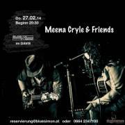 Meena Cryle & Friends, 1210 Wien 21. (Wien), 27.02.2014, 20:30 Uhr