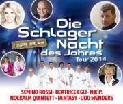 Die Schlagernacht des Jahres - Tour 2014, 4020 Linz (OÖ), 17.10.2014, 20:00 Uhr