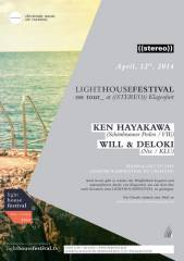 Lighthouse Festival _on tour @ ((stereo)) KLU, 9020 Klagenfurt  1. (Ktn.), 12.04.2014, 22:00 Uhr