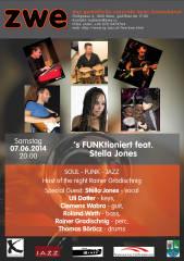 's FUNKtioniert feat. Stella Jones, 1020 Wien,Leopoldstadt (Wien), 07.06.2014, 20:00 Uhr