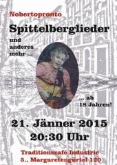 Spittelberglieder im Industrie!, 1050 Wien  5. (Wien), 21.01.2015, 20:30 Uhr