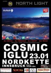 Cosmic Iglu 2015, 6020 Innsbruck (Trl.), 23.01.2015, 18:00 Uhr