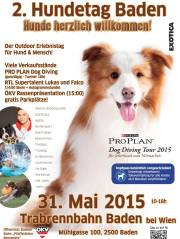 HUNDETAG Trabrennbahn Baden, 2500 Baden (NÖ), 31.05.2015, 10:00 Uhr