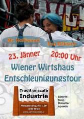Eva Billisich und Mr. Holliwood im Industrie!, 1050 Wien  5. (Wien), 23.01.2015, 20:00 Uhr