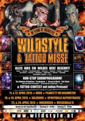 Wildstyle & Tattoo Messe, 1110 Wien 11. (Wien), 11.04.2015, 12:00 Uhr