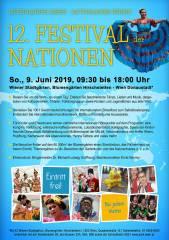 12. FESTIVAL DER NATIONEN, 1220 Wien,Donaustadt (Wien), 09.06.2019, 09:30 Uhr