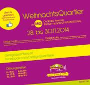 1.000 m² Design  das WeihnachtsQuartier im MQ, 1070 Wien,Neubau (Wien), 28.11.2014, 14:00 Uhr