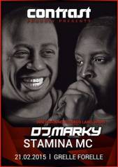 Contrast proudly presents Innerground Records Label Night w/ DJ Marky & Stamina MC, 1090 Wien  9. (Wien), 21.02.2015, 23:00 Uhr