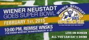 Superbowl Party Wiener Neustadt, 2700 Wiener Neustadt (NÖ), 01.02.2015, 22:00 Uhr
