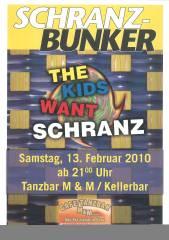 Schranzparty, 8020 Graz,17.Bez.:Puntigam (Stmk.), 13.02.2010, 21:00 Uhr