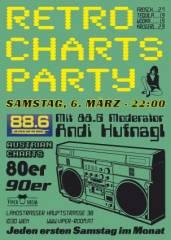 88.6 Retro Charts Party, 1160 Wien 16. (Wien), 06.03.2010, 21:00 Uhr