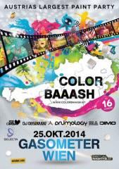 Color Baaash, 1110 Wien 11. (Wien), 25.10.2014, 21:00 Uhr