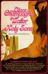 Watter + Holy Sons + Lilacs& Champagne, 4020 Linz (OÖ), 12.02.2015, 21:30 Uhr