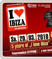 "5 years of ""I love ibiza"", 8020 Graz  5. (Stmk.), 20.03.2010, 22:00 Uhr"