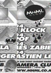 MNML Deluxe with Ben Klock, 1070 Wien  7. (Wien), 01.04.2010, 22:00 Uhr