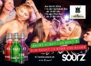 Sourz Night: Ab geht'z in Saalbach, 5753 Saalbach (Sbg.), 04.01.2014, 14:00 Uhr