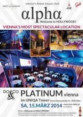 Club Alpha, 1020 Wien  2. (Wien), 15.03.2014, 22:00 Uhr