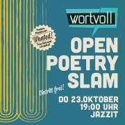 Wortvoll Open Poetry Slam, 5020 Salzburg (Sbg.), 23.10.2014, 19:00 Uhr