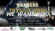 Großes Football und Cheerleader Tryout der Mödling Rangers, 2340 Mödling (NÖ), 07.10.2016, 17:00 Uhr