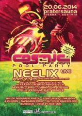 Cosmic  Pool Party mit Neelix live, 1020 Wien  2. (Wien), 20.06.2014, 15:00 Uhr