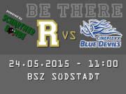 AFC Rangers Mödling - Hohenems Blue Devils, 2340 Mödling (NÖ), 24.05.2015, 11:00 Uhr