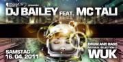 Secondsight pres. DJ Bailey feat. MC Tali, 1090 Wien  9. (Wien), 16.04.2011, 22:00 Uhr