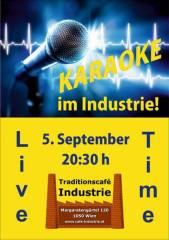 3. Karaoke-Fest im Industrie!, 1050 Wien  5. (Wien), 05.09.2014, 20:00 Uhr