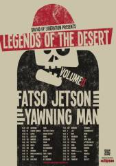 Fatso Jetson + Yawning Man + Powder for Pigeons, 4020 Linz (OÖ), 18.02.2015, 21:30 Uhr