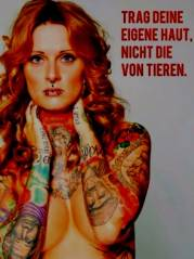 Tattoos statt Tiere von Rox