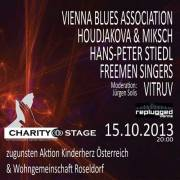 CharityStage: Vienna Blues Association, Houdjakova&Miksch, Hans Peter Stiedl, FreeMenSingers, Vitruv, 1070 Wien  7. (Wien), 15.10.2013, 20:00 Uhr