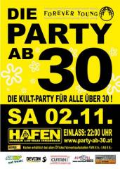 Forever Young - Die Party ab 30, 6020 Innsbruck (Trl.), 02.11.2013, 22:00 Uhr