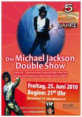 Michael Jackson Double Show, 8020 Graz,17.Bez.:Puntigam (Stmk.), 25.06.2010, 21:00 Uhr