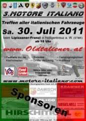 Motore Italiano 2011, 8081 Heiligenkreuz am Waasen (Stmk.), 30.07.2011, 10:00 Uhr