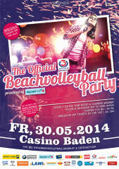 The official Ö3 Beachvolleyball Baden presented by spark7, 2500 Baden (NÖ), 30.05.2014, 21:00 Uhr