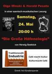 """Die Große Häfenelegie"" von Herwig Seeböck, 1050 Wien  5. (Wien), 24.05.2014, 20:00 Uhr"