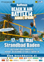 Raiffeisen Beach 'n Air Battle Spring, 2500 Baden (NÖ), 17.05.2014, 00:00 Uhr