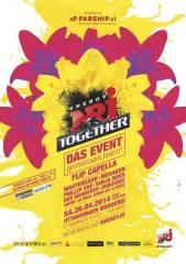 Energy Together IV eröffnet am 26.4. den Frühling!, 1160 Wien 16. (Wien), 26.04.2014, 22:00 Uhr