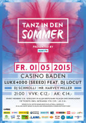 """Tanz in den Sommer"" presented by spark7, 2500 Baden (NÖ), 01.05.2015, 21:00 Uhr"