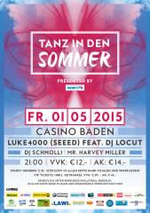 """Tanz in den Sommer"" presented by spark7, 2500 Baden (NÖ), 01.05.2015, 21:00 Uhr"