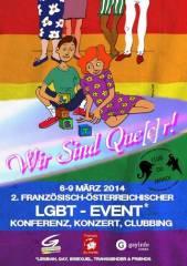 Diskussionabend LGBT-Rechte in Europa und Russland, 1090 Wien  9. (Wien), 07.03.2014, 18:00 Uhr